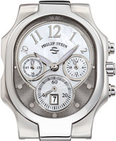 Philip Stein Teslar Large Chronograph Watch Head, Gray