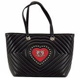 Love Moschino Quilted Heart Tote Shoulder Bag