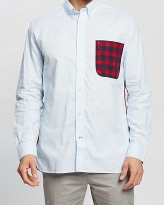 Tommy Hilfiger Relaxed Contrast Back Shirt