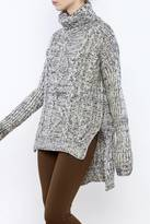 Solemio Cable Knit Sweater