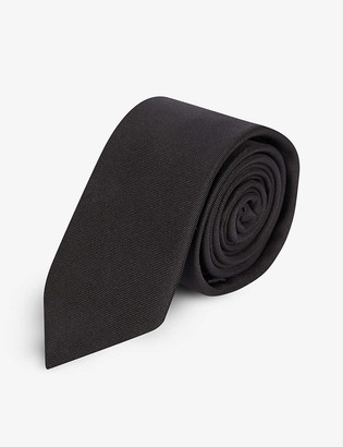 Givenchy Logo-embroidered silk tie