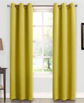 """Sun Zero Tabbey Room Darkening Grommet 40"""" x 95"""" Curtain Panel"""