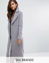 Missguided Tall Longline Duster Coat
