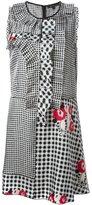 Marc Jacobs gingham check sleeveless dress - women - Silk/Cupro - 12