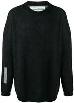 Off-White Arrows print jumper -Black