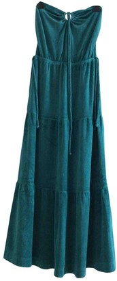 Juicy Couture Green Cotton Dresses