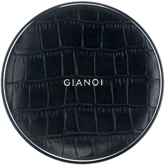 Gianoi Wireless Charger Embossed Croc Leather