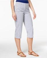 Karen Scott Printed Capri Pants, Only at Macy's