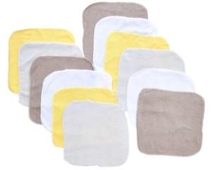 Tendertyme Baby Boys and Girls 12-Piece Lollipop Washcloth Gift Set
