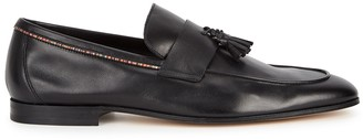 Paul Smith Hilton black leather loafers