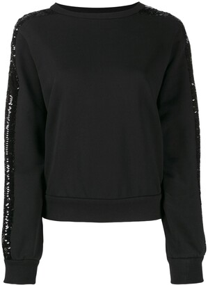 Iceberg Sequin Stripe Sweatshirt