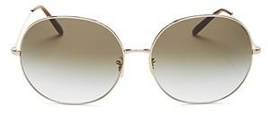 Oliver Peoples Women's Darlen Oversized Round Sunglasses, 64mm