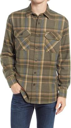 Pendleton Burnside Plaid Button-Up Flannel Shirt