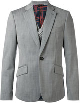 Vivienne Westwood notched lapel casual blazer - men - Cotton/Polyamide/Spandex/Elastane/Virgin Wool - 48