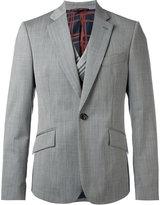 Vivienne Westwood notched lapel casual blazer - men - Virgin Wool/Viscose/Polyamide/Cotton - 46