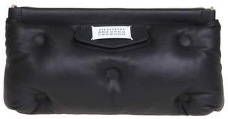 Maison Margiela Glam Slam Mini Handbag In Soft Leather Color Black
