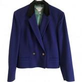 Versus Purple Wool Jacket for Women Vintage