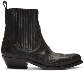 Golden Goose Black Limited Edition Santiago Boots