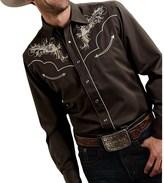 Roper Six Shooter Shirt - Snap Front, Long Sleeve (For Men)