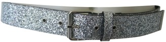 Maison Margiela Silver Glitter Belts