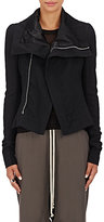 Rick Owens Women's Naska Virgin Wool Biker Jacket-BLACK