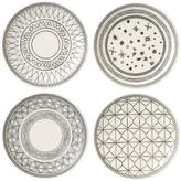 Royal Doulton Ellen DeGeneres Charcoal Grey Plates - 16cm - Set of 4