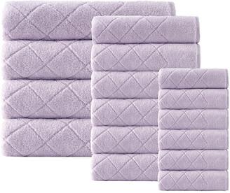 Enchante Home Set Of 16 Gracious Towel Set