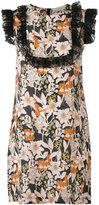 L'Autre Chose floral print dress - women - Silk - 38