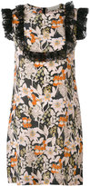 L'Autre Chose floral print dress - women - Silk - 40