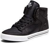 Supra Vaider Size 13 Black - White Skate Shoes