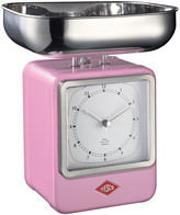 Wesco Retro Scale with Clock - Pink