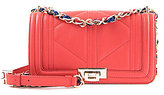 Sam Edelman Mira Quilted Chain-Strap Cross-Body Bag