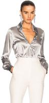 Houghton for FWRD Lyra Bodysuit in Metallics.