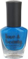 Forever 21 Love 21 Cobalt Blue Nail Polish