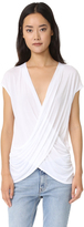 Lanston Crossover Surplice Top