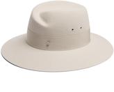 Maison Michel Virginie rabbit-fur felt fedora hat