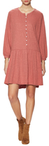 Free People Linen Button Up Shift Dress