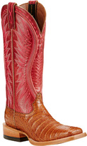 Ariat Women's Vaquera Caiman Cowgirl Boot