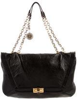 Lanvin Textured Shoulder Bag