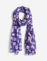 The Limited Lightweight Printed Handbag Scarf