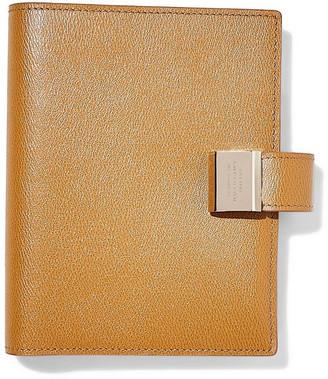 Smythson Grosvenor Textured-leather Notebook