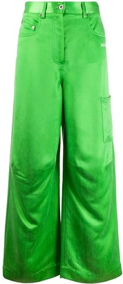 Off-White Wide Leg Skater Trousers