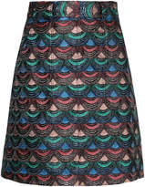 G.V.G.V. embroidered skirt
