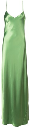 Galvan Slip Evening Dress