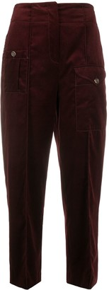 Temperley London Esmeralda tapered trousers