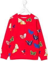 Mini Rodini butterfly print sweatshirt