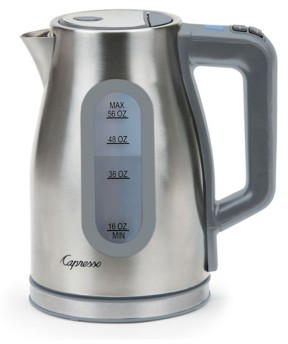 Capresso H2O Select Stainless Steel Kettle