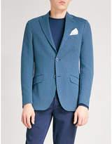 Etro Geometric-patterned Regular-fit Cotton-jersey Jacket