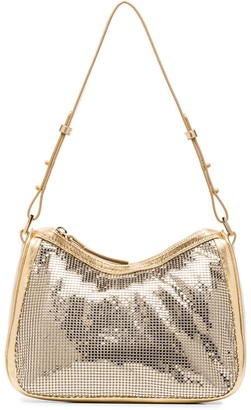 BY FAR Sydney chain mail shoulder bag