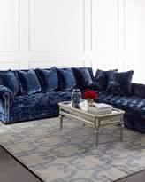 Haute House Divine Crushed Velvet Right Chaise Sectional